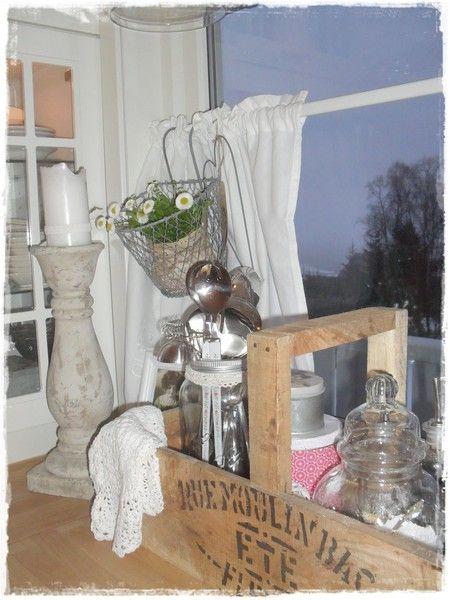 Интерьер в стиле шебби шик в отдельно взятой квартире. Кухня-столовая 2