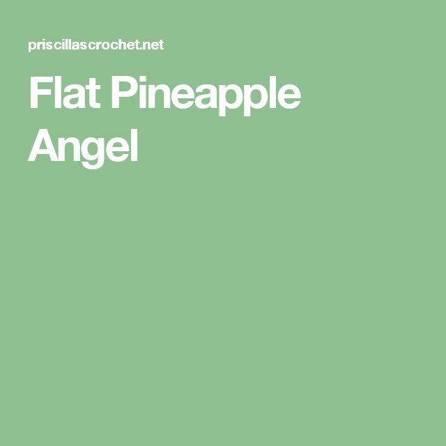 Flat Pineapple Angel