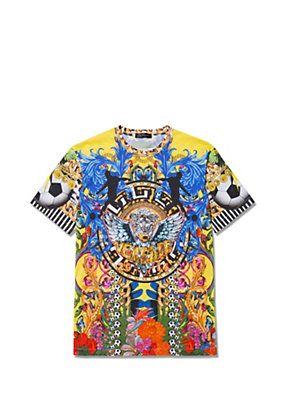 Versace - Versace Loves Brazil T-shirt The ugliest shirt in the world