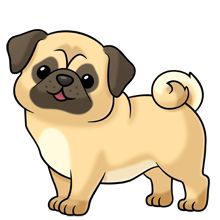pug ~ soooo many more images at the link of all kinds of animals