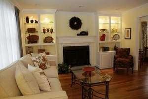 living room inlets shelving - Google Search