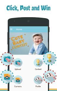 Contest & vote best baby photo, Baby Selfie in online photography Photo contest.