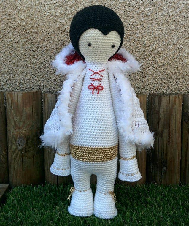 "Elvis mod made by Betty D. / based on crochet pattern ""VLAD the vampire bat"" by lalylala"