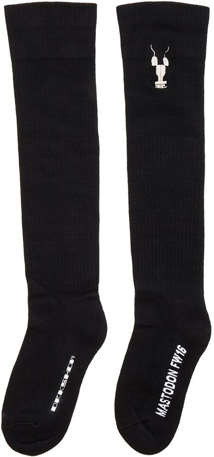 DRKSHDW by Rick Owens Mastodon Knee High Socks
