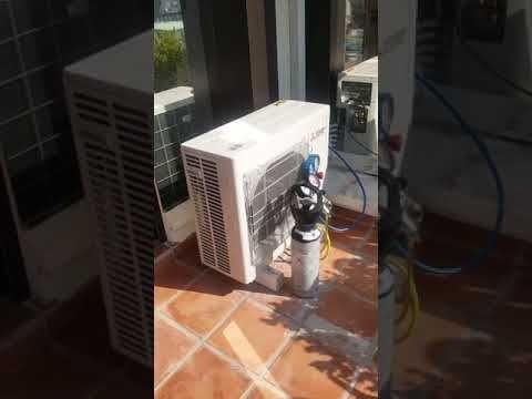 Test de fuite sous azote avant mise en service de 3 climatiseurs MITSUBISHI ELECTRIC MSZ-SF sur une unité extérieure MXZ-3E68. Vérification étanchéité des tuyauteries unités intérieures et unité extérieure avant tirage au vide.Travaux SARL RATTO ET FILS. #roquebrune #chaleur #climatisation #clim #plomberie #plombier #chaud #canicule #menton #monaco #frigoriste #froid #design #travail #travaux #climatiseur #rénovation #artisanat #artisan #mitsubishielectric #appartement #salon #chambre #luxe
