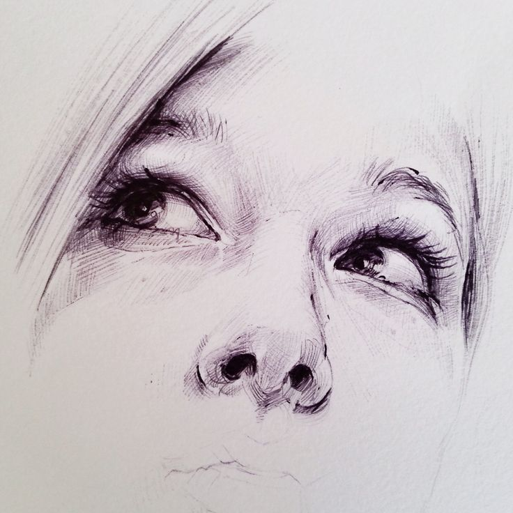 ... Julia - Ballpoint Pen drawing by HB✎