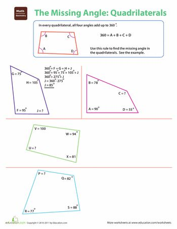 Need more help understanding quadrilaterals?