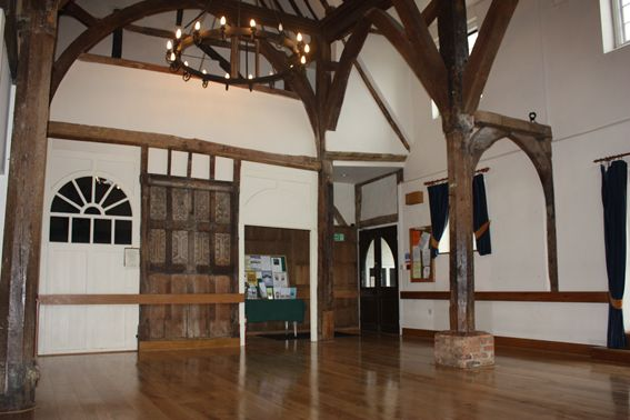 Medieval Hall.Grade 1 listed building.13th century hall.Venue hire.Hertfordshire.Ware.