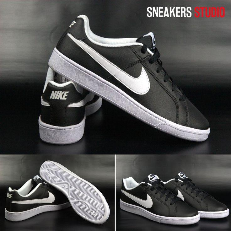 Sensationelle Schuhe Nike COURT ROYALE wurden aus dem weichen Leder hergestellt. Sie sind sehr komfortabel und leicht zum Fuß ideal für alltäglisch. Das Modell Court Royale bezieht sich auf seinen Stil mit den Modellen aus den 80en Jahren in den Stil retro. #Schuhe #Nike #Modell #Stil #Retro