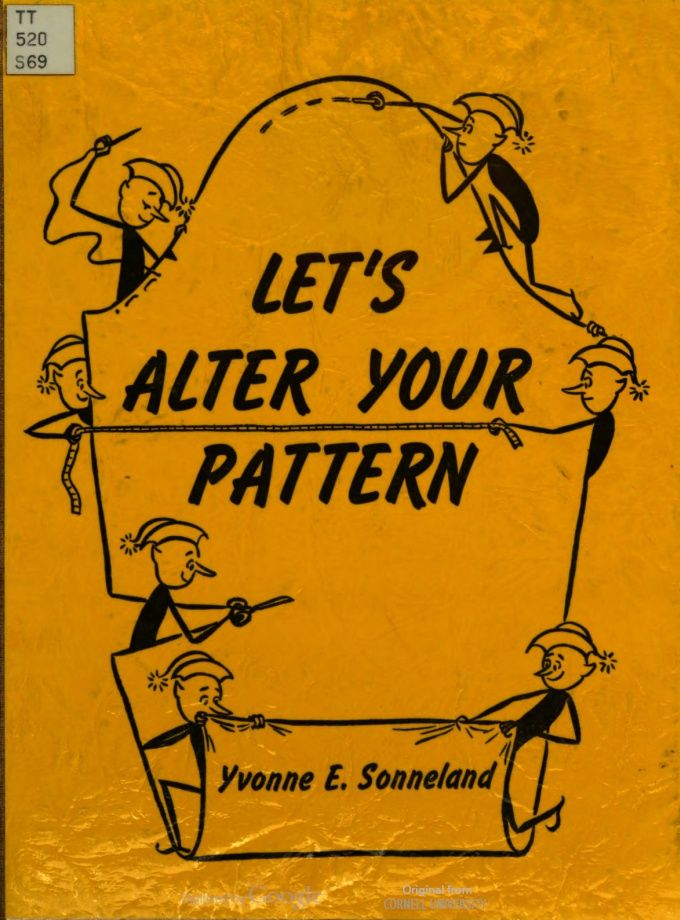 1960s This is a really nice book on pattern alterations.
