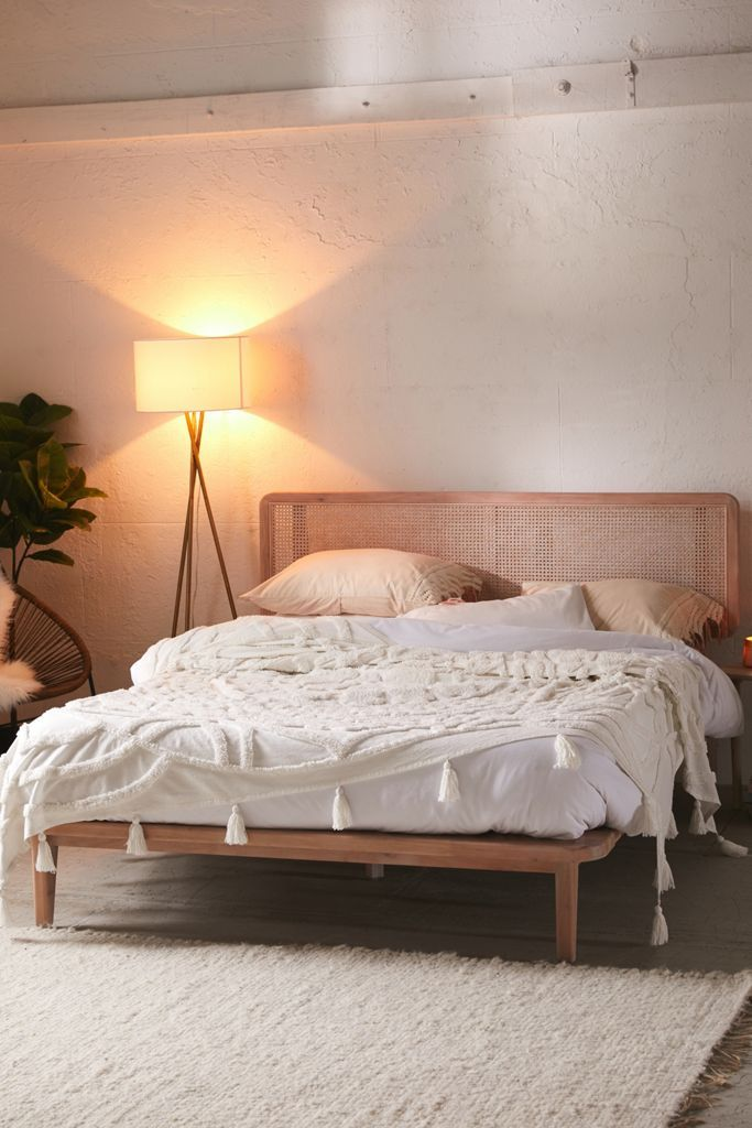 Urban Outfitters Marte Platform Bed In 2020 Cheap Bedroom