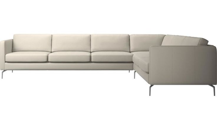 like my psrents sofa Hjørnesofa - Osaka hjørnesofa, vanlig sete - Hvit - Hud