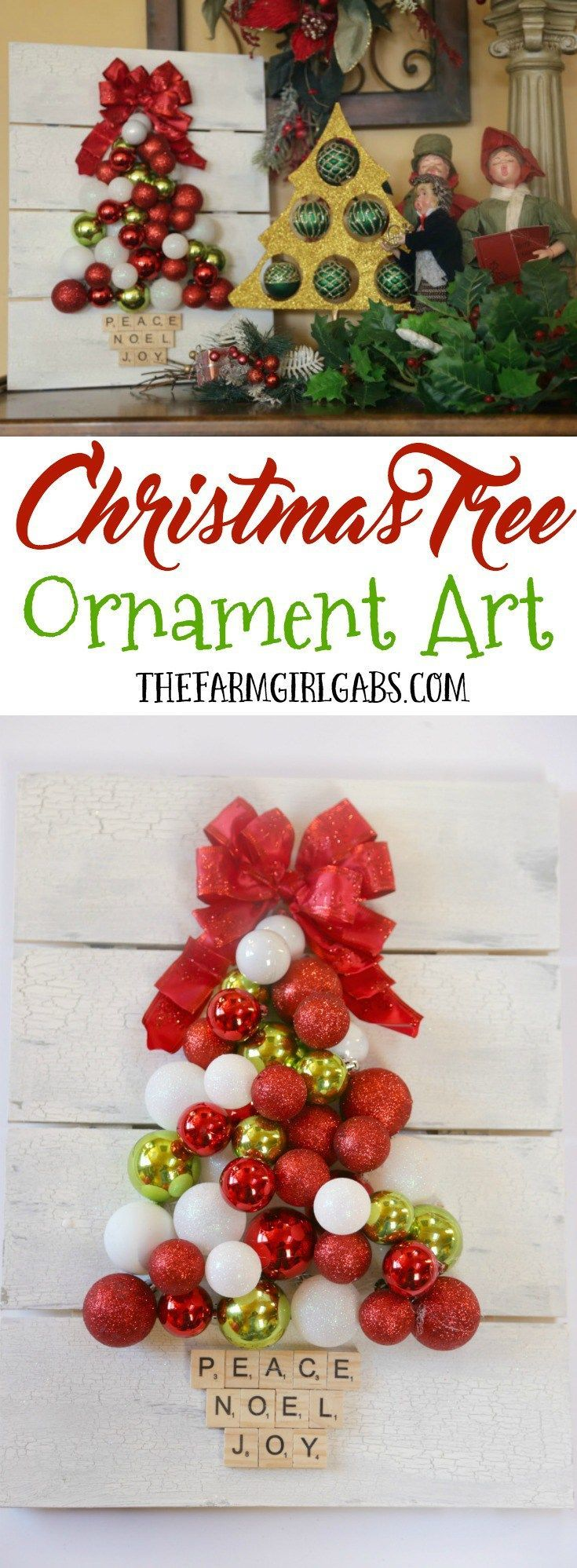 Ready rats diy mini scrapbook my crafts and diy projects - Make It Shine This Holiday Season With The Simple Diy Christmas Tree Ornament Art This