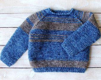 Baby Boy Pullover  12 bis 18 Monat Größe Wolle Pullover mit