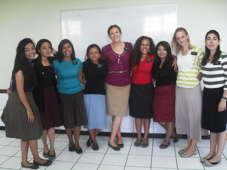 The Hermanas of the zone and me