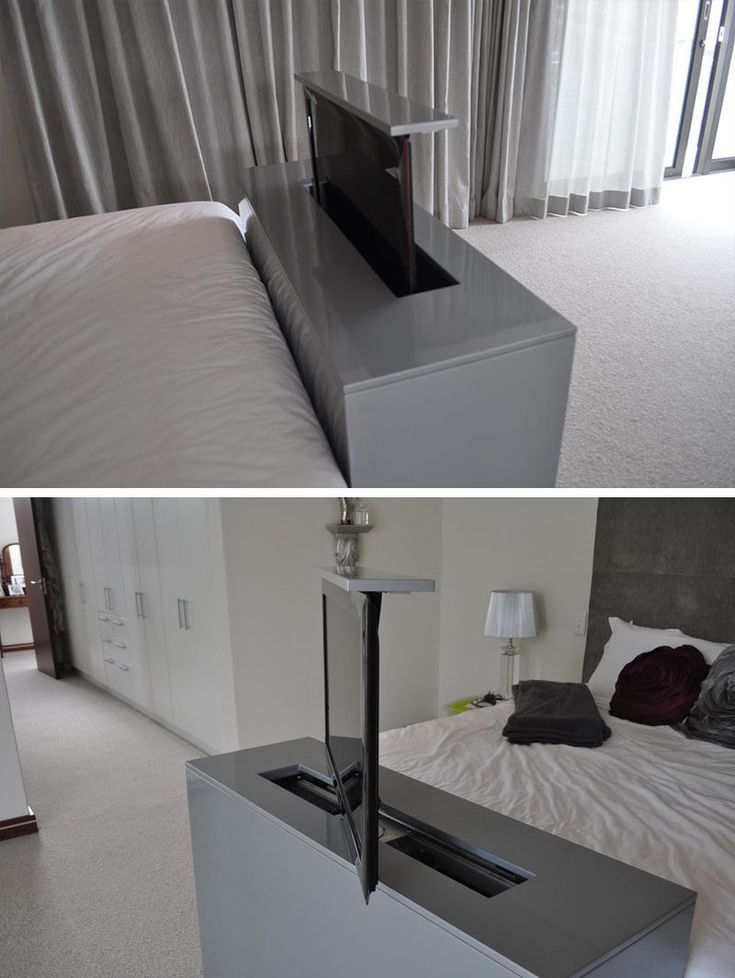 7 ideas for hiding a tv in a bedroom the tv built into the. beautiful ideas. Home Design Ideas