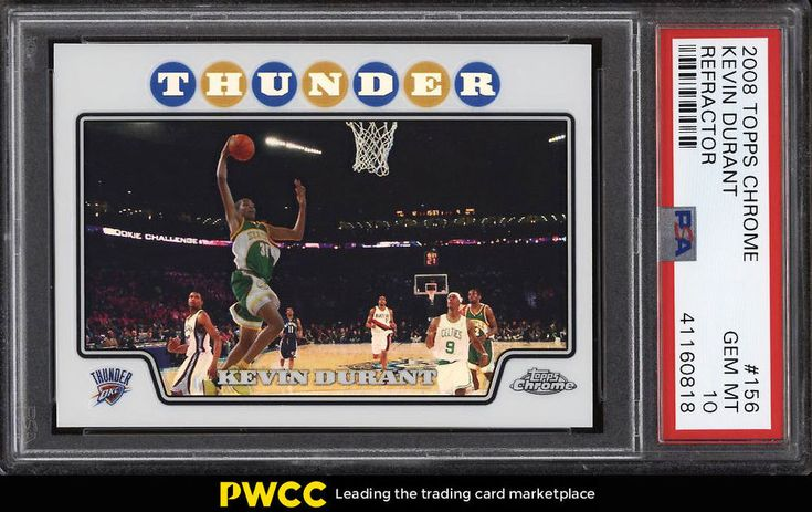 Park Art My WordPress Blog_Kevin Durant Seattle Supersonics Topps Rookie Card