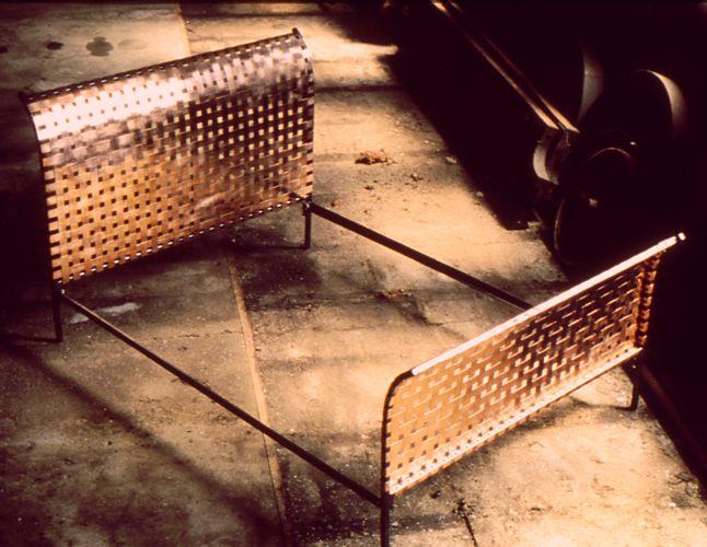 Stunning copper bed by blacksmith, Roger Chudzik