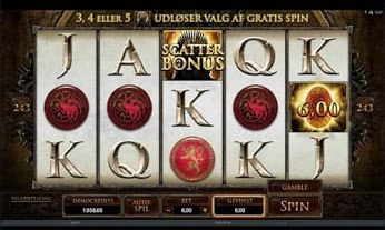 The Game of Thrones video slot by Microgaming offers players astounding graphics, audio and a thrilling and unique free spin round.