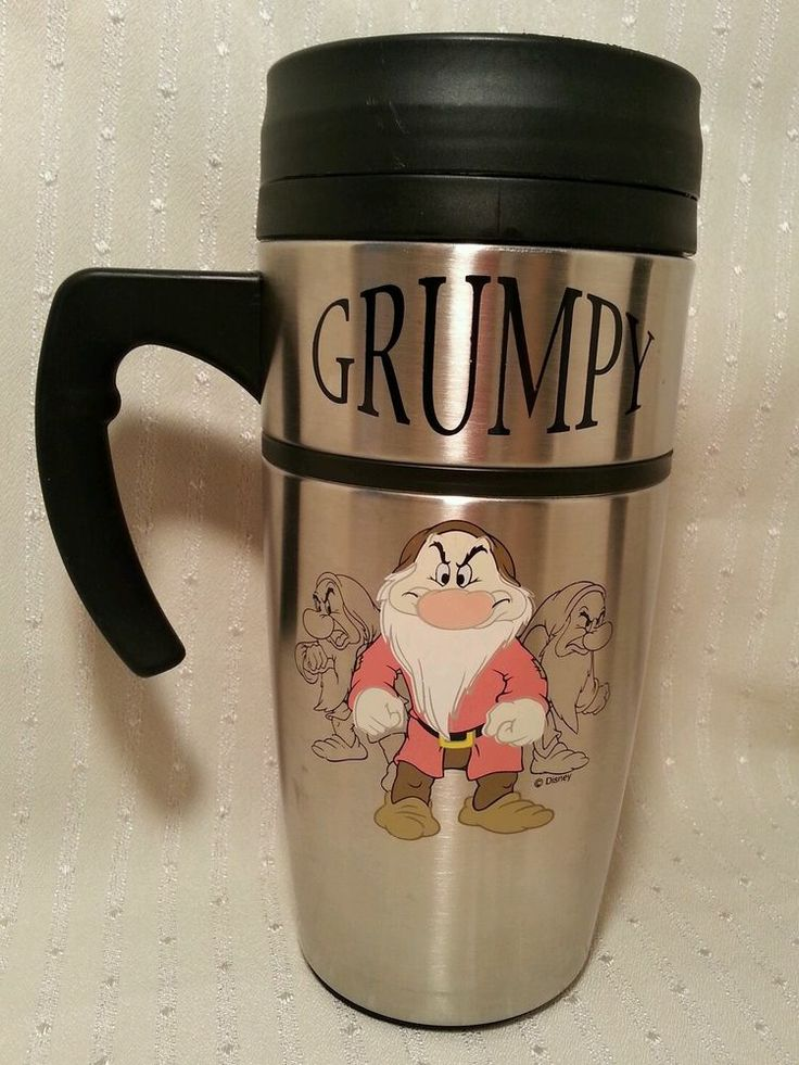 Grumpy Travel Mug Disney