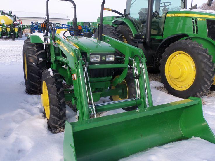 John Deere 5055E with 553 loader