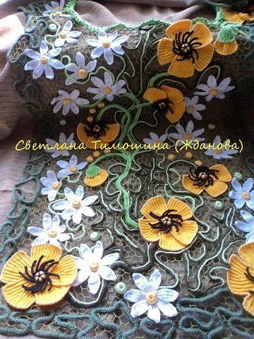 Irish crochet &: Мастер Светлана Тимошкина