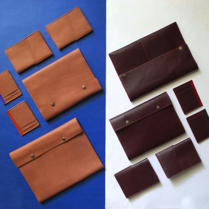 Our entire leather collection  'Dual' is now live on Etsy. It has been handmade in very limited quantity with premium quality leather. Each product comes in Dual colours. Furthermore, each product is made of dual colours and materials as well.