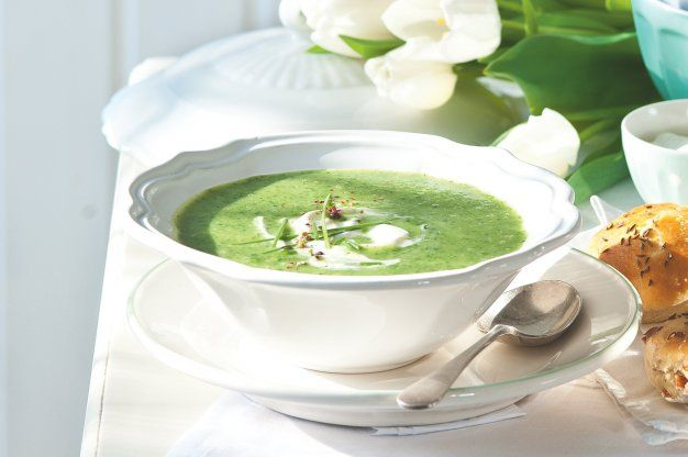 Zelená polévka   Apetitonline.cz