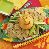 Funny Face Cheese Ball #cheeseball #appetizer #cheese