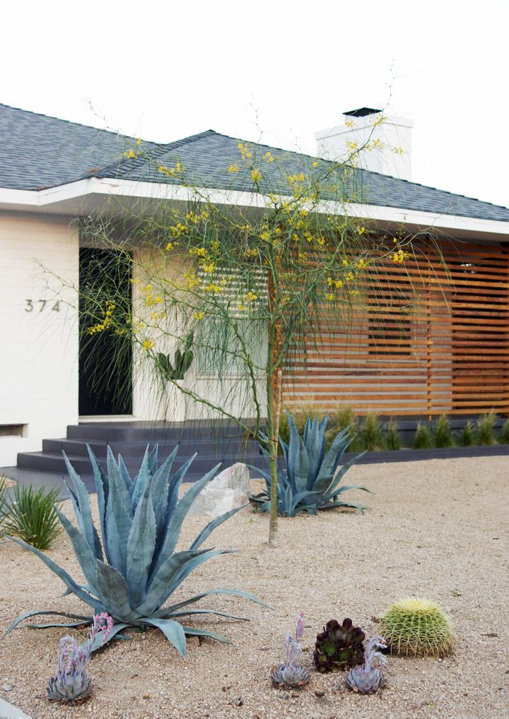 the Brick House drought friendly landscaping