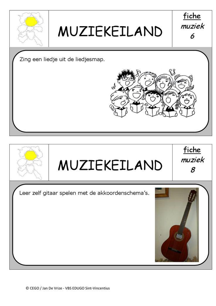 Muziekeiland opdrachten 4