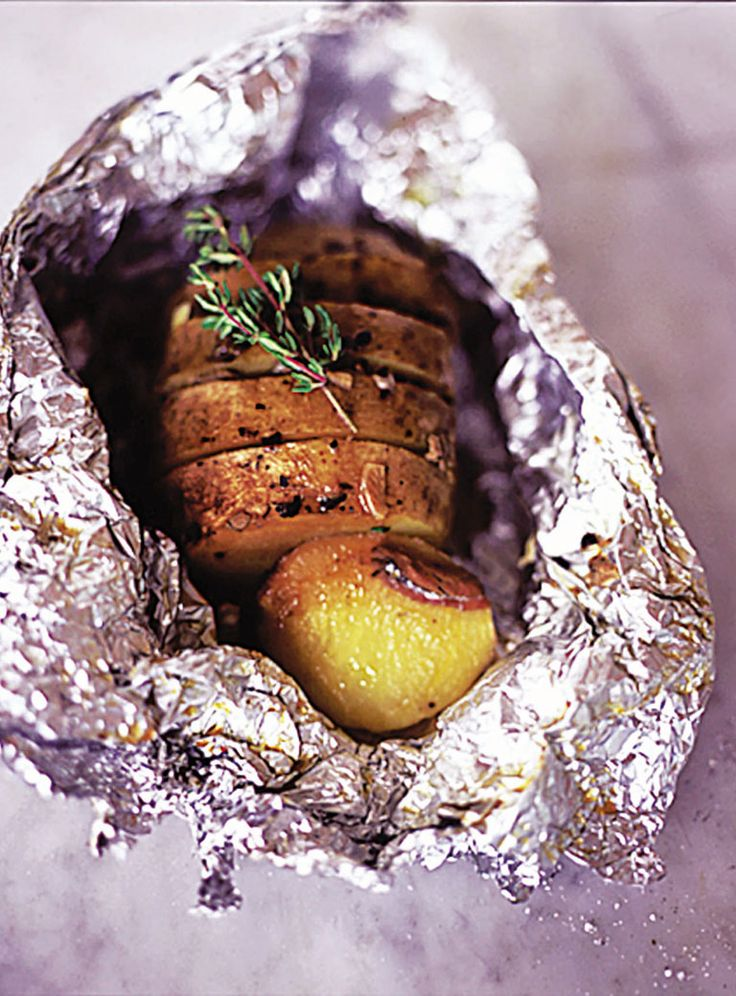 garlic, thyme & anchovy baked potatoes | Jamie Oliver | Food | Jamie Oliver (UK)