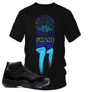 Air Jordan Retro 11 gamma blue sneaker t-shirt. This sneaker tee shirt for  the Retro XI Gamma Blue shoe is a perfect choice!