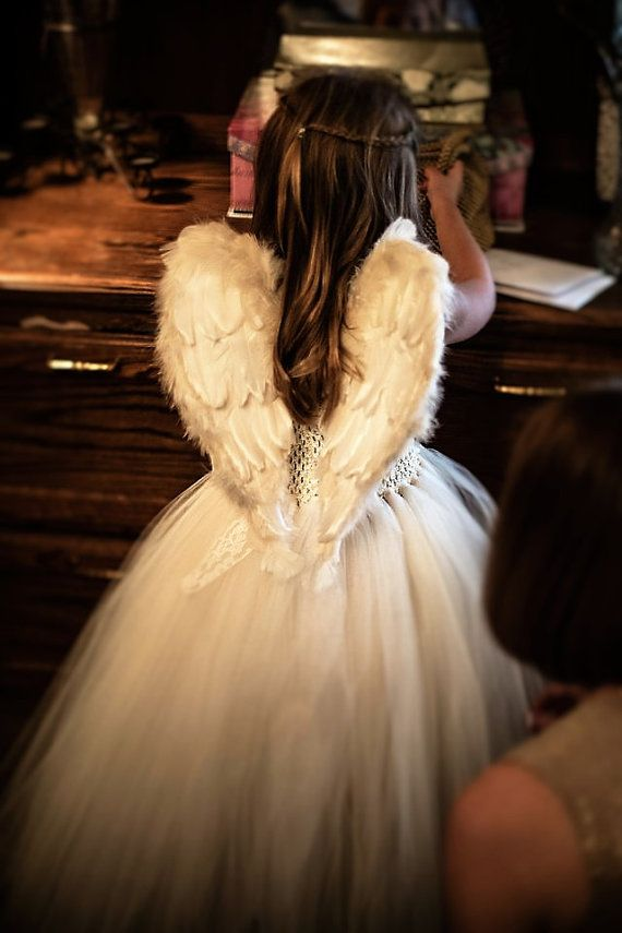 Extremely popular design!  Incredible low prices! Awesome baby shower gift! Beautiful in wedding, flower girl, pageants, baptism, christening, etc. Must-have photo prop for that unforgettable baby angel photo shoot!  Beautiful decor!  Add glitter to make your wings sparkle! https://www.etsy.com/listing/488492881/add-on-item-glitter-gold-silver-blue-red?ref=shop_home_active_1  Absolutely GORGEOUS Heart shaped Angel Wings for babies, toddlers and children. FREE HALO INCLUDED! Finished on both…