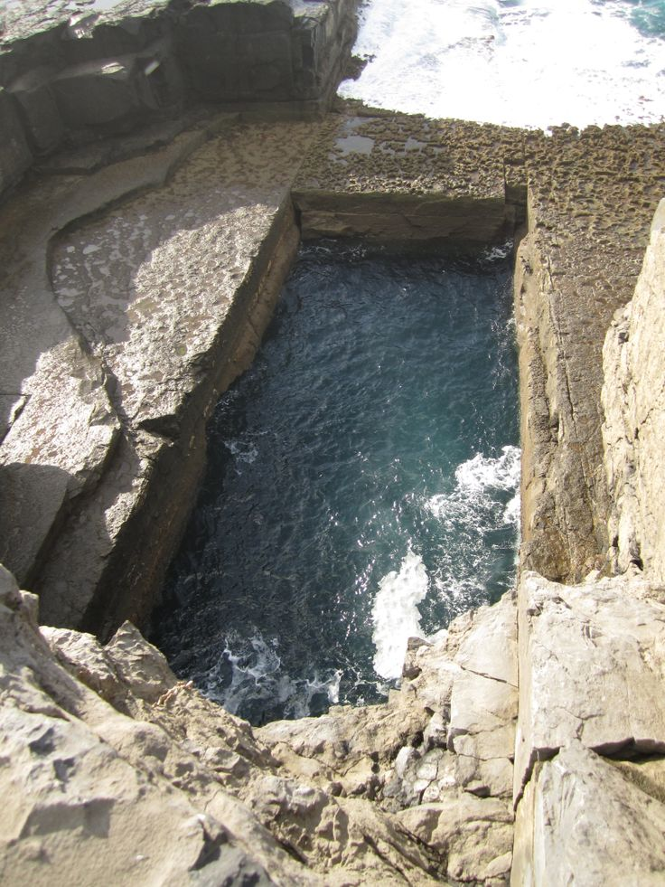 The Wormhole, InishMore, Aran Islands
