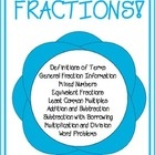 $4.00 This 11 page packet (plus answer key) helps students tackle every aspect of fractions. This packet covers:Definitions of Terms, General Fraction In...