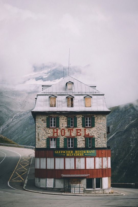 Grand Budapest Hotel in Switzerland.