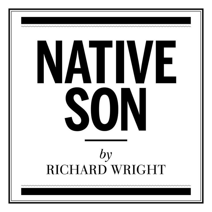 an analysis of determinism in native son by richard wright In a critical analysis of this passage there are many single phrases to dissect   essay about richard wright's native son - richard wright's native son richard.