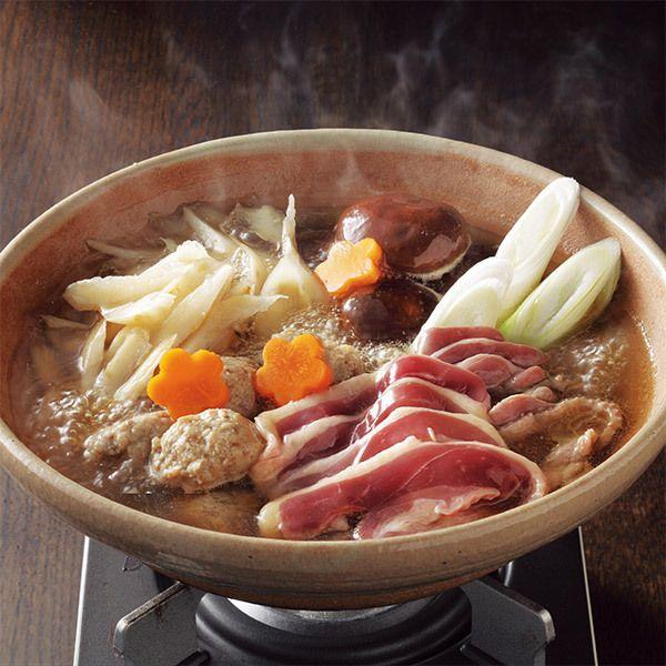 やわらかく滋味豊かな国産合鴨肉を使って。【合鴨鍋】