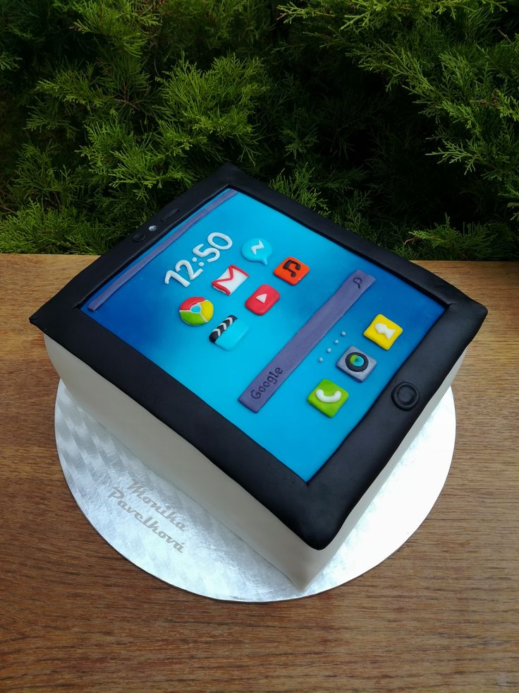 Tablet computer iPad CAKE. DORT tablet.