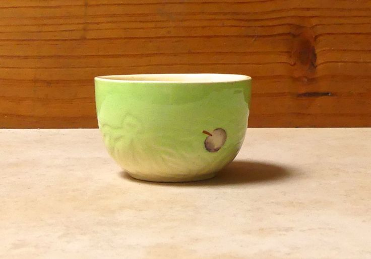 Vintage Art Deco Staffordshire tiny Sugar Bowl by JessaBellas on Etsy