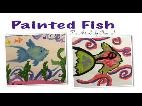 Pattern and Texture: Painted Fish - YouTube