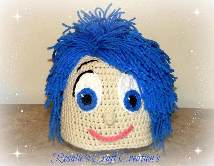 Crochet Hat Joy From Inside out