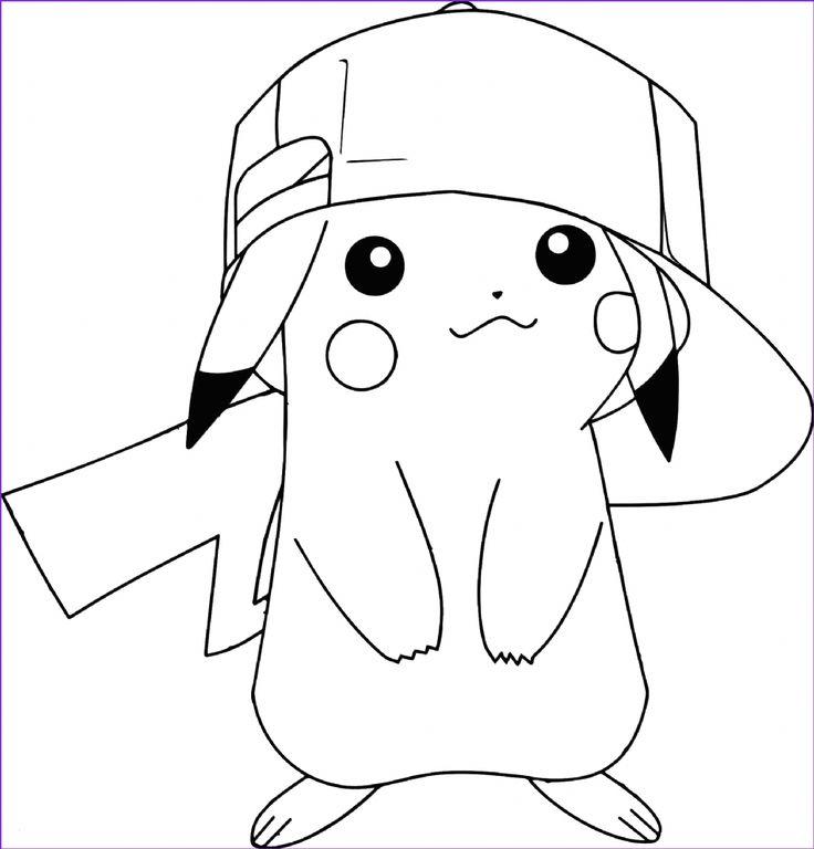 ausmalbilder pokemon pikachu  pikachu coloring page