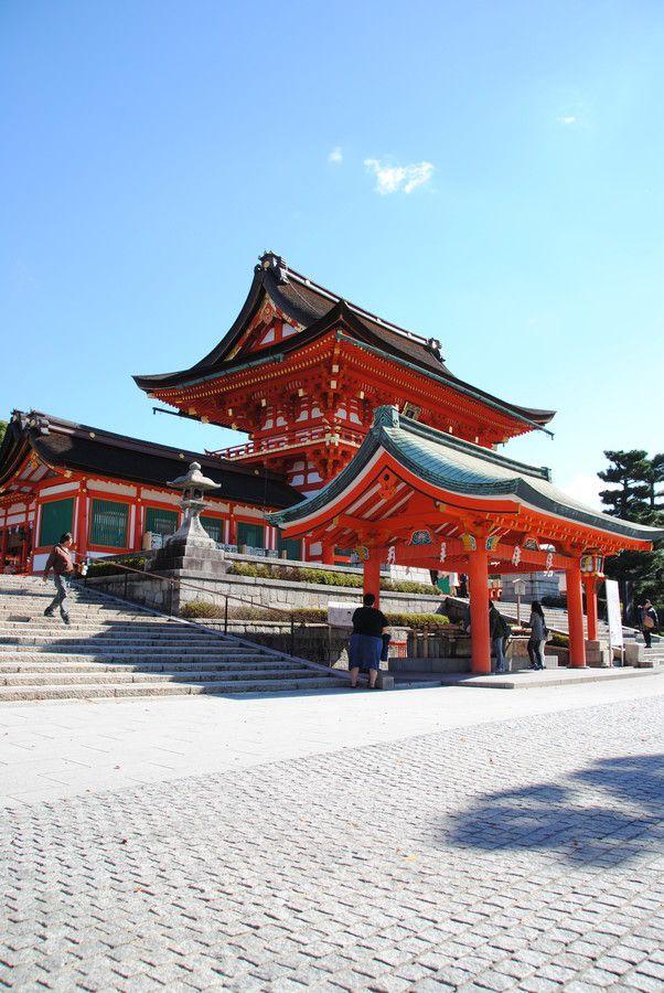 Fushimi-Inari Grand Shrine, Kyoto, Japan (?)