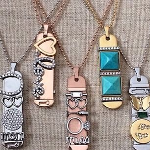 "I'm in love with the KEEP pendants! You can choose from silver, gold, or rose gold, then choose an 18"" or 30"" chain, and choose which ""keys"" you want to create your one-of-a-kind piece! <3 http://keep-collective.com/with/courtneynichols"