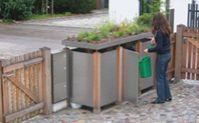 Müllhäuschen und Müllboxen Holz