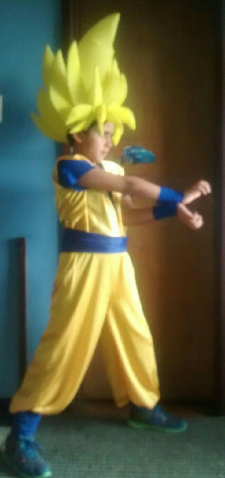 Halloween, Goku, disfraz, DIY manualidades.