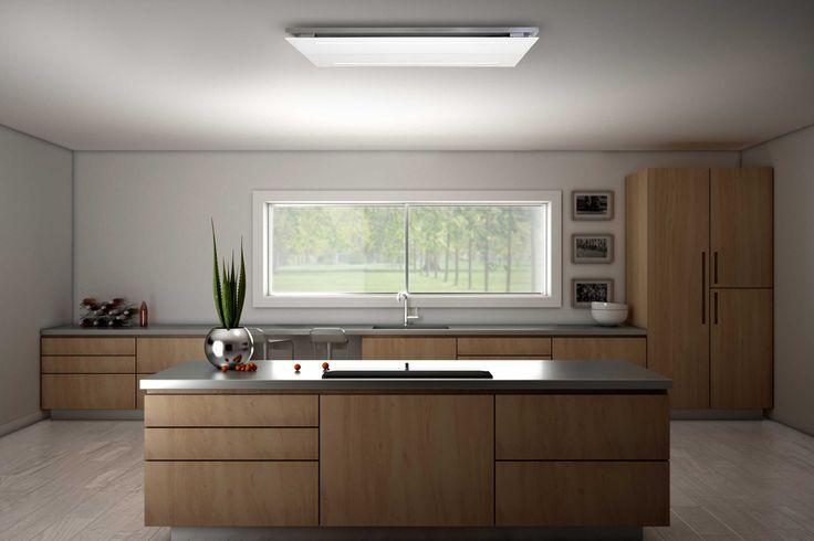 kookeiland met plafond unit 8960 van Wave Concepts