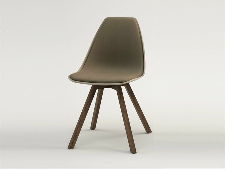 Gepolsterter Stuhl X WOOD SOFT Kollektion X Chair By ALMA DESIGN Design  Mario Mazzer